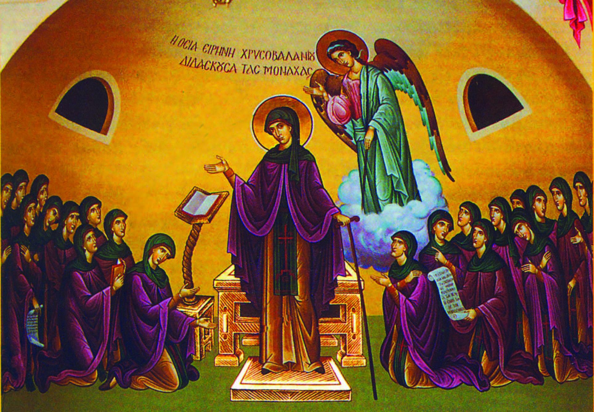 Αποτέλεσμα εικόνας για Η μοναχή του Χρυσοβαλάντου