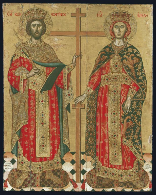Η βιογραφία των Ισαποστόλων Κωνσταντίνου και Ελένης - Κιβωτός της ...